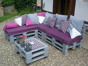 Faire Des Meubles Avec Des Palettes : 22 meubles faire avec des palettes en bois ~ Preciouscoupons.com Idées de Décoration