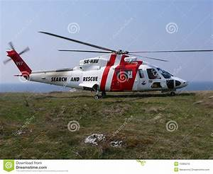 Search And Rescue Helicopter Royalty Free Stock Image ...