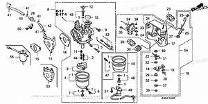 Honda Small Engine Parts Gx270 Oem Parts Diagram For