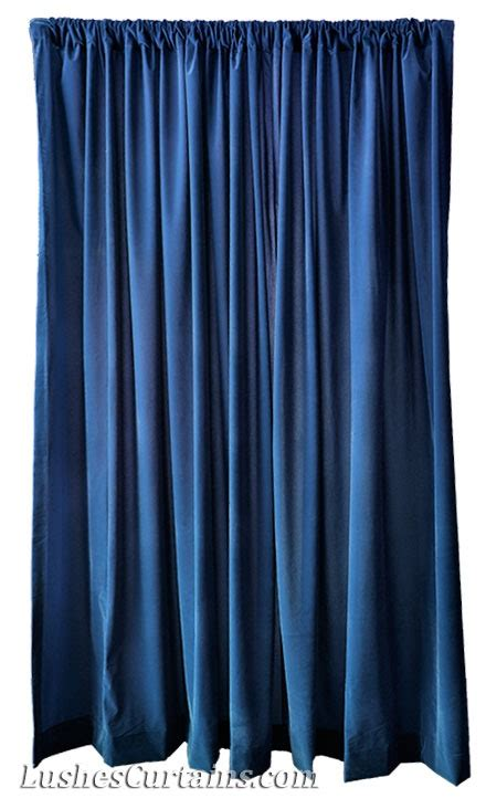 Navy Velvet Drapes - how to hang and the drapes lushes curtains