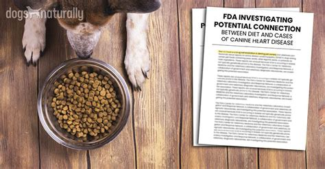 news fda reports  dog foods   heart disease