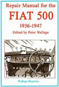 Repair Manual For The Fiat 500 1936