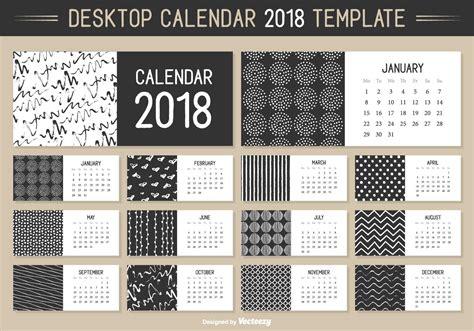 Descargar Templates Illustrator Gratis by Calendarios En Vector 2019 Para Descargar Gratis Illustrator