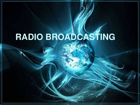 Radio Broadcasting