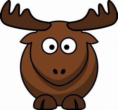 Cartoon Elk Clip Onlinelabels