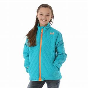 Under Armour Girls Coldgear Infrared Micro Jacket