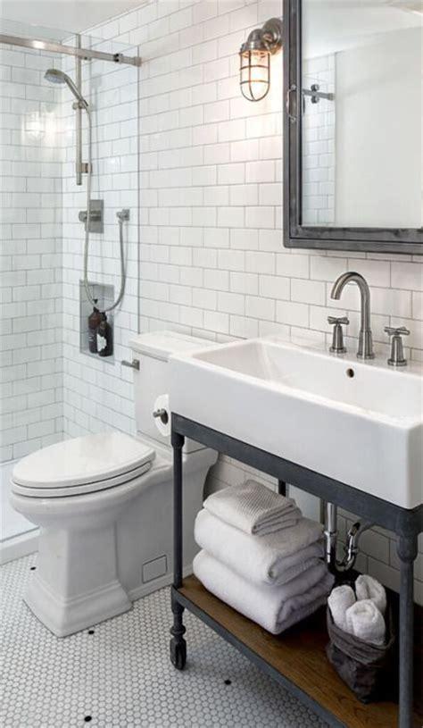 industrial farmhouse bathroom tile 32 trendy and chic industrial bathroom vanity ideas digsdigs Industrial Farmhouse Bathroom Tile