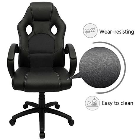 furmax office chair high back pu leather gaming chair