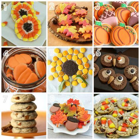 fall recipe ideas fabulous fall cookie recipe ideas cakejournal com