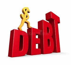 Rising Debt Stock Photo - Image: 24424490
