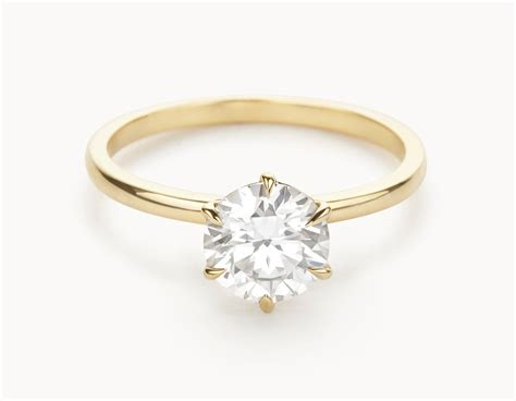 Wedding Rings : The Solitaire Engagement Ring