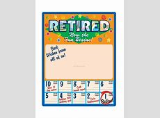 Retirement Free Printable Countdown Calendars Free
