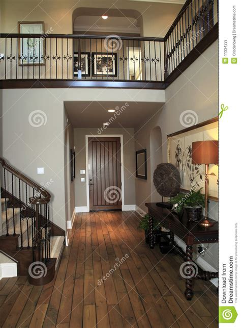 luxury home hallway stock image image  estate mansion