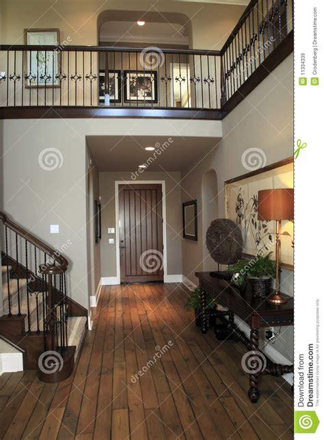 luxury home hallway royalty  stock images image