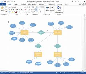 Create Er Diagram For Word