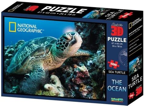 Sea Turtle Puzzles  Prime 3d 10028 National Geographic