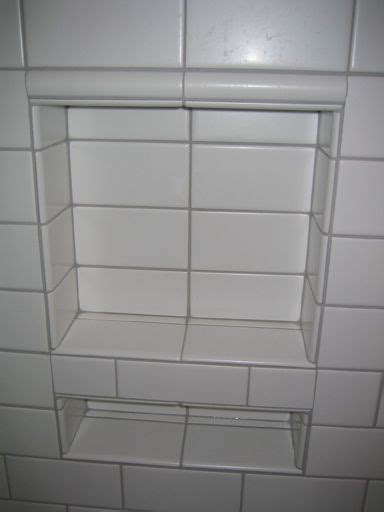 tiling bonsal niche  subway tile ceramic tile advice
