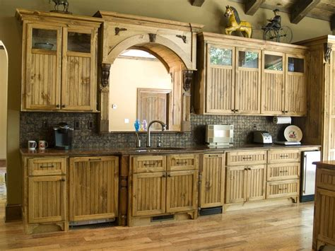 rustic maple kitchen cabinets loccie  homes