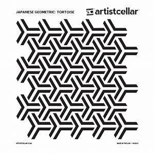 paper flower workshop artistcellar japanese geometric series stencils