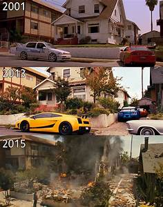 Fast And Furious 2001-2015 Paul Walker by recyclebin ...