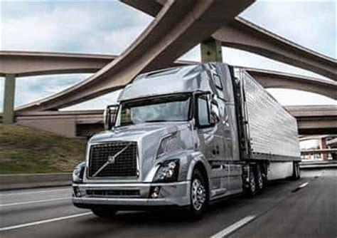 model year  volvo vn series trucks receiving