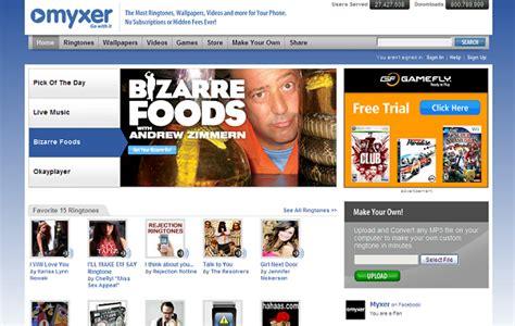 myxer iphone top 5 websites to free iphone ringtones iphone