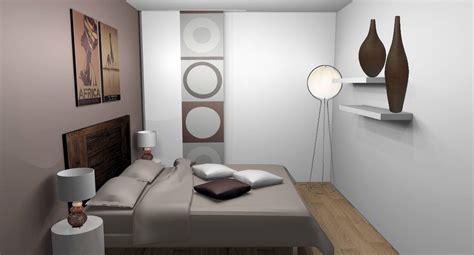 chambre blanche et beige solsalon moderne
