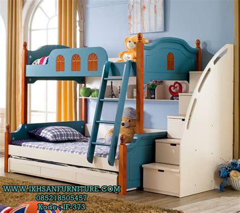 desain kamar tidur anak sederhana model tingkat