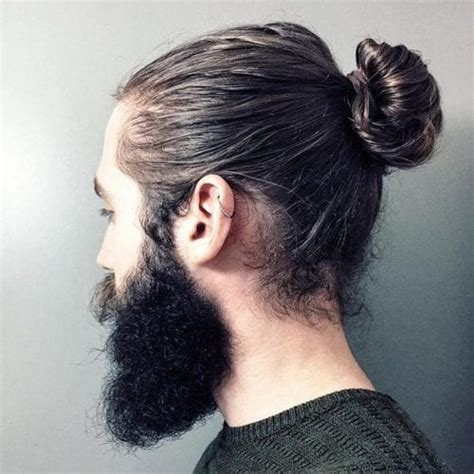 types  man bun hairstyles gallery
