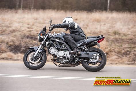 Suzuki Sv650n by Suzuki Sv650n 2005 Test 3 Motormania Motocykle