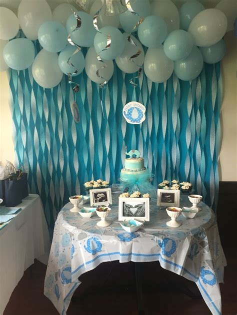 boys shower baby boy elephant baby shower baby shower ideas in 2019