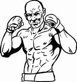Boxing Coloring Pages Karate Judo Sports Source sketch template