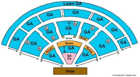 mansfield xfinity center seating chart