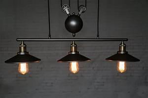 Suspension Luminaire Industriel : luminaire industriel vintage ~ Teatrodelosmanantiales.com Idées de Décoration