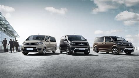 toyota company latest models proace verso models features vantage toyota