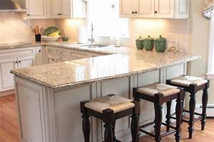 U Shaped Kitchen Designs With Breakfast Bar U Shaped