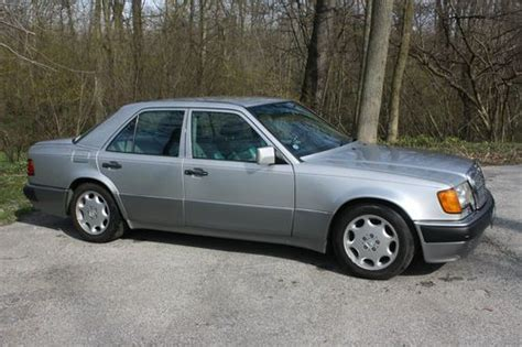 mercedes porsche 500e buy used 1993 mercedes benz 500e porsche collaboration in