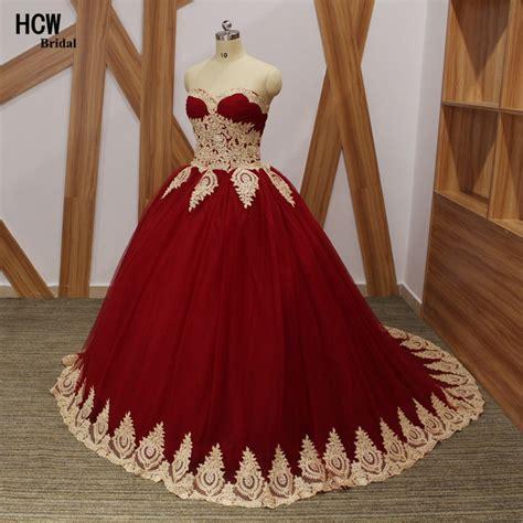 vintage burgundy quinceanera dress  gold lace