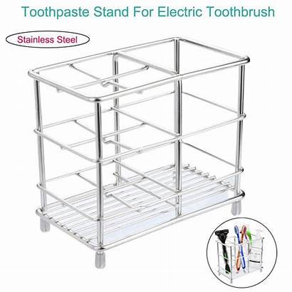 Toothbrush Holder Stainless Steel Walmart Toothpaste Stand