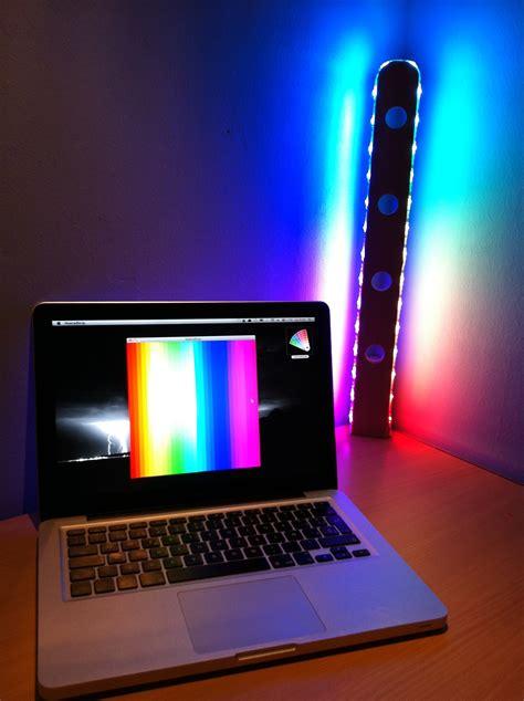 arduino controlled rgb lamp