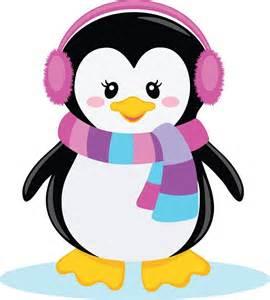 Girl Penguin Clip Art