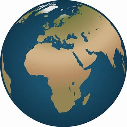 Globe Clip Clipart Europe Earth Africa Drawing