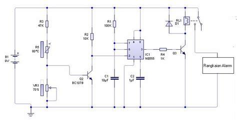 catatan sederhana dhany elektronika rangkaian sensor suhu