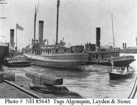 Tugboat In Spanish by Spanish American War Tugs