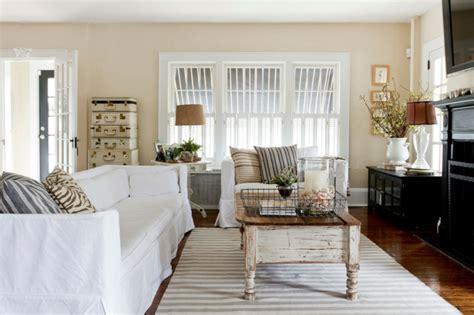 shabby chic wohnzimmer  romantische einrichtungen