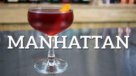 manhattan cocktail recipe youtube