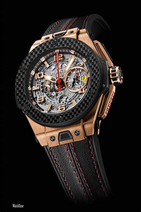 Hublot's flagship model, the big bang has revolutionized the watchmaking universe with its extraordinary design. A Fleet of Ferraris: 10 Hublot Big Bang Ferrari Watches   WatchTime - USA's No.1 Watch Magazine