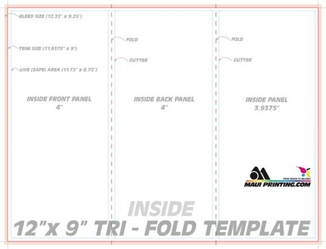 tri fold tent card template table tent template cyberuse