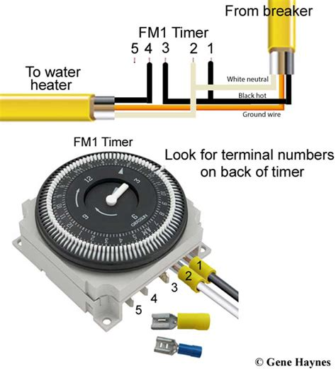 Grasslin Time Clock Wiring Diagram by How To Install Point Of Use Water Heater