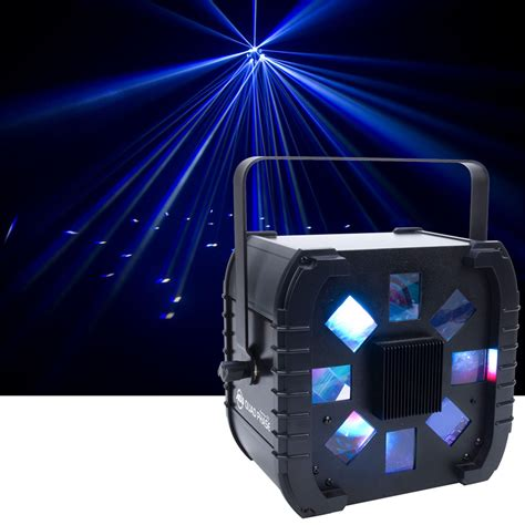 american dj quad phase led moonflower effect light pssl
